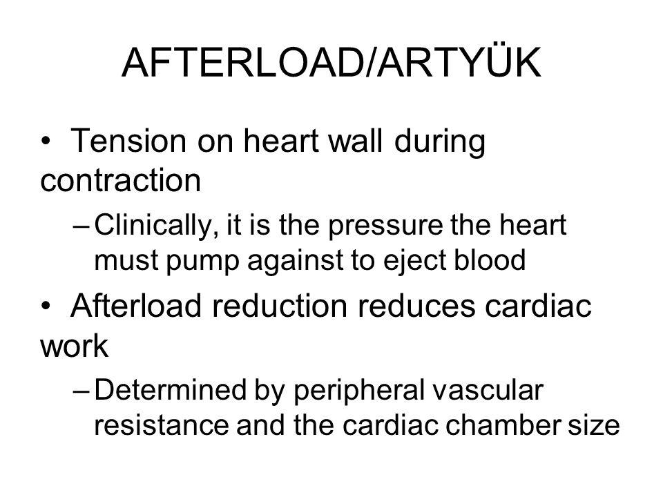 KY EVRELEMESİ (yapısal) Stage A –KY için yüksek risk/Yapısal kalp hastalığı yok/KY semptomu yok Stage B –Yapısal Kalp hastalığı + –Kalp yetmezliği bulgusu yok Stage C –Semptomatik KY Stage D –Yoğun tedavi gerektiren refrakter KY
