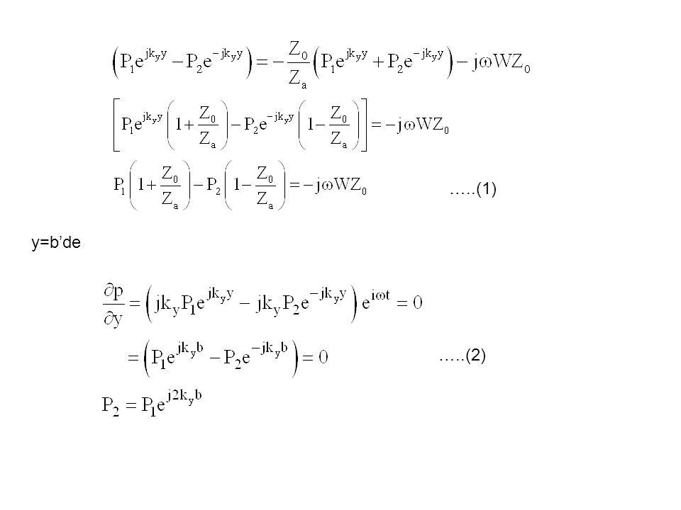 y=b'de …..(1) …..(2)