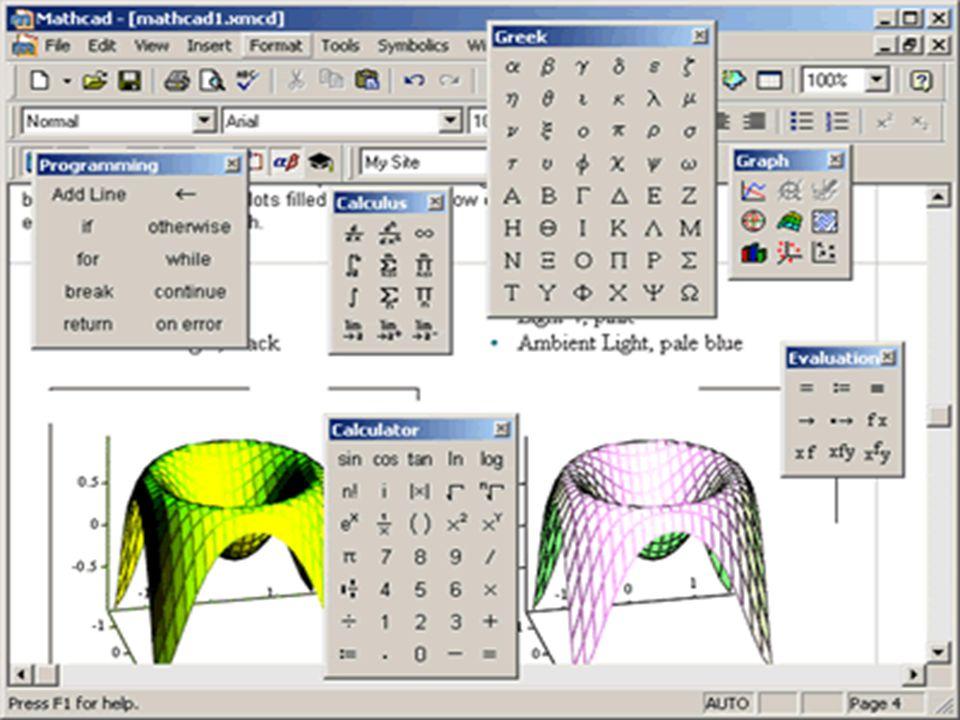 Diğer Yazılımlar Derive, derslerde yardımcı olması için geliştirilen basit bir matematik programıdır.
