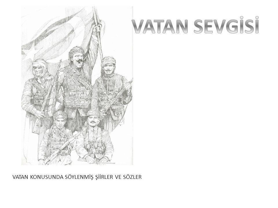 Bu vatan, çocuklarımız ve torunlarımız için cennet yapılmaya layıktır Mustafa Kemal Atatürk