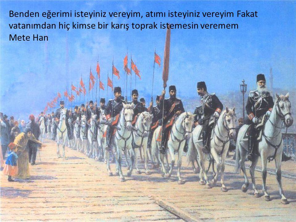 Türklerden başka dini ve vatanı uğruna canını vermeye hazır asker görmedim Hamilton