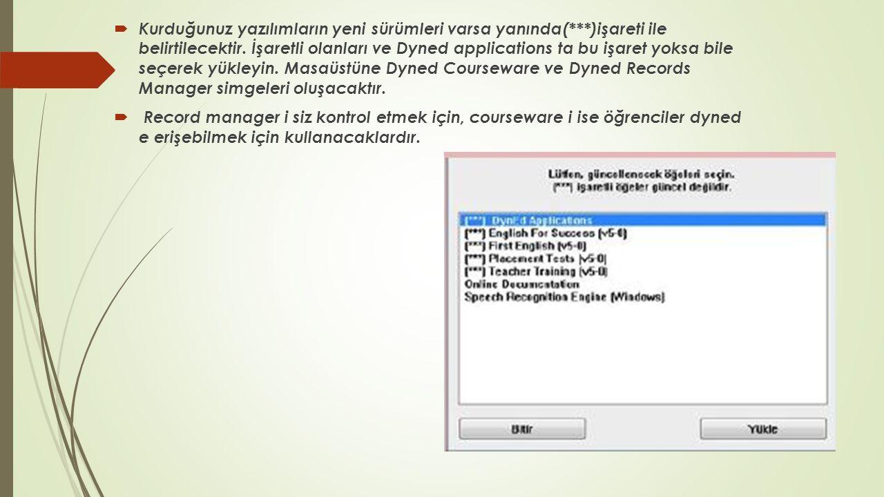 Kurum bilgilerinizi güncellemek için:  http://dyned.eba.gov.tr/EBA_Dyned/eba/kurum_giris.xhtml siteye giriş yapın.