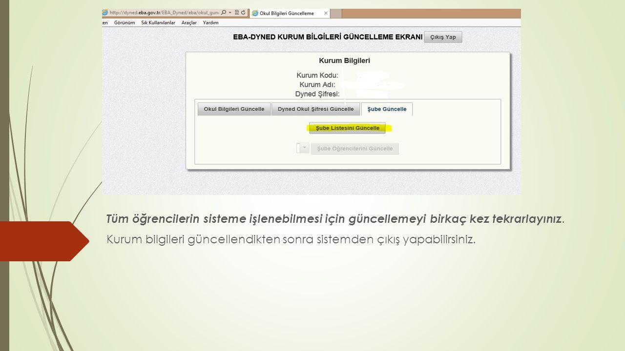  http://dyned.eba.gov.tr/EBA_Dyned/eba/index.xhtml sitesine girin ve EBA şifresi ile oturum açın.