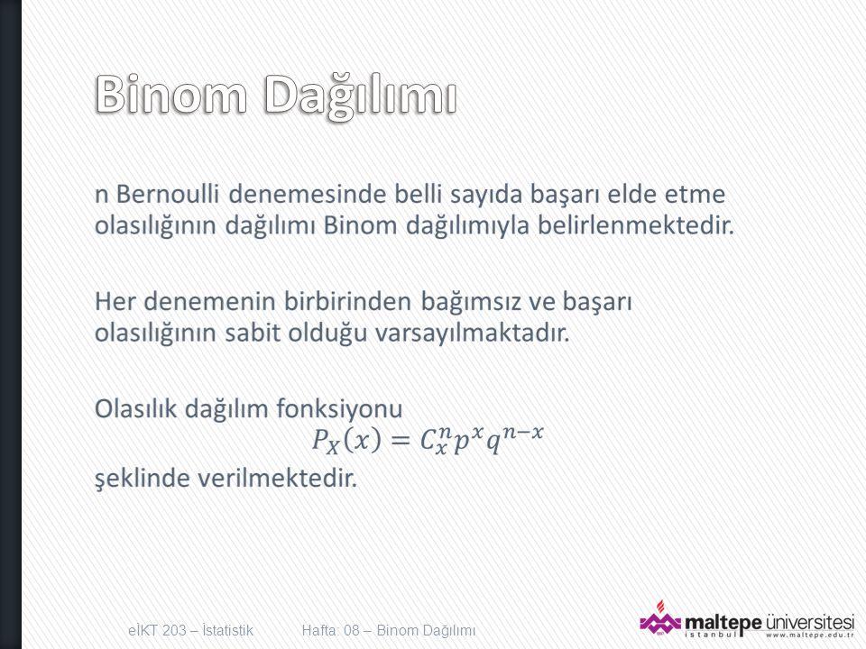 n = 5 P = 0.1 n = 5 P = 0.5 0.2.4.6 012345 x P(x).2.4.6 012345 x P(x) 0