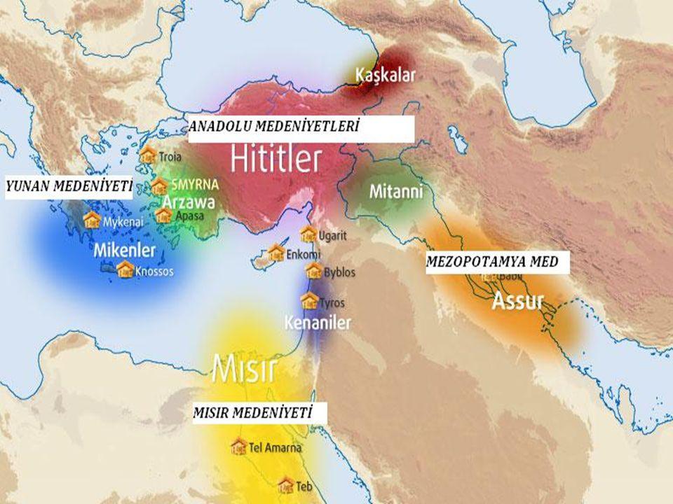 ANADOLU MEDENİYETİ ÇEVREİNE GÖRE DAHA ZENGİNDİR Tarihin ilk dönemlerinden itibaren Türkiye'de, aynı zaman diliminde birden fazla büyük medeniyet yan y