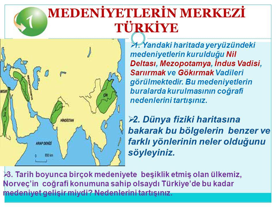 Anadolu Yarımadası, coğrafi özelliklerinden dolayı tarihin her döneminde mutlaka bir medeniyete beşiklik etmiştir.
