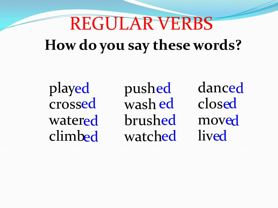 play cross water climb ed How do you say these words.