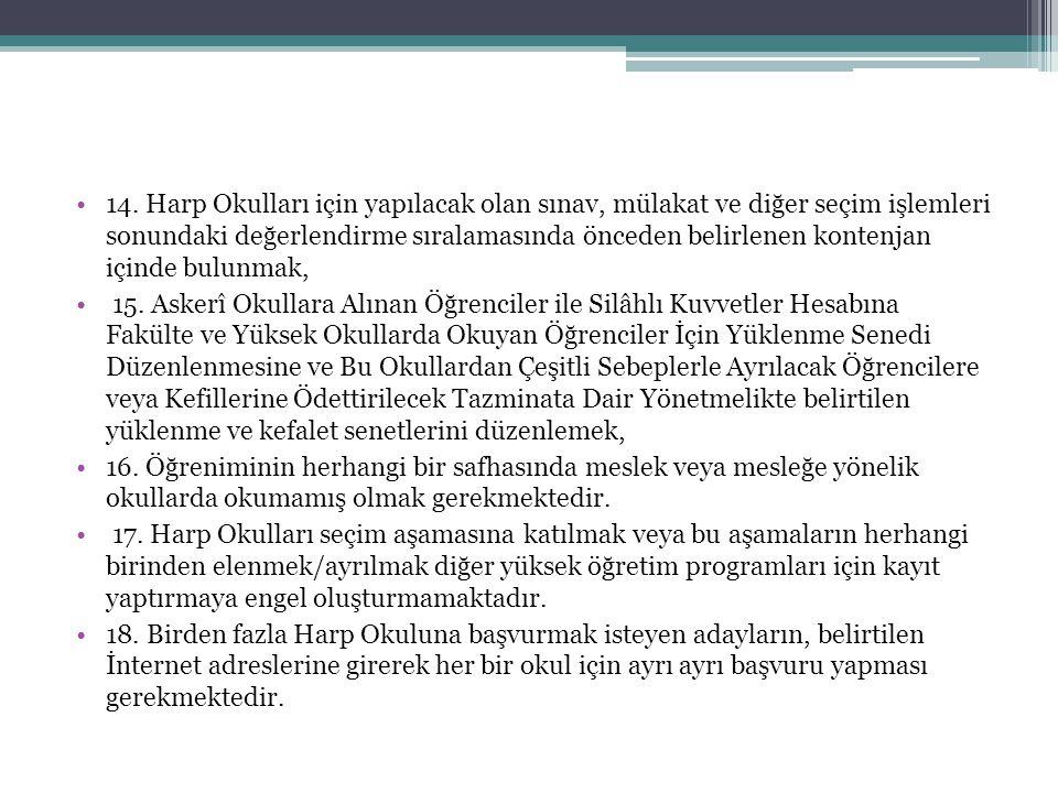 KARA HARP OKULU Kara Harp Okulu, Ankara ilinde bulunmaktadır.