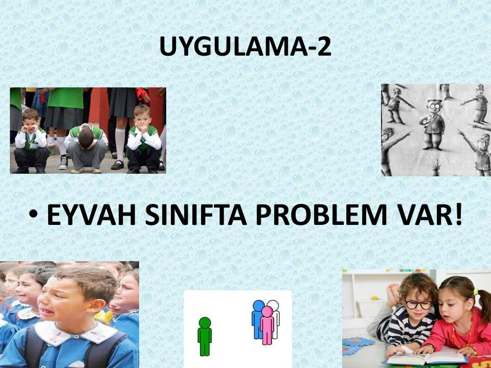 UYGULAMA-2 EYVAH SINIFTA PROBLEM VAR!