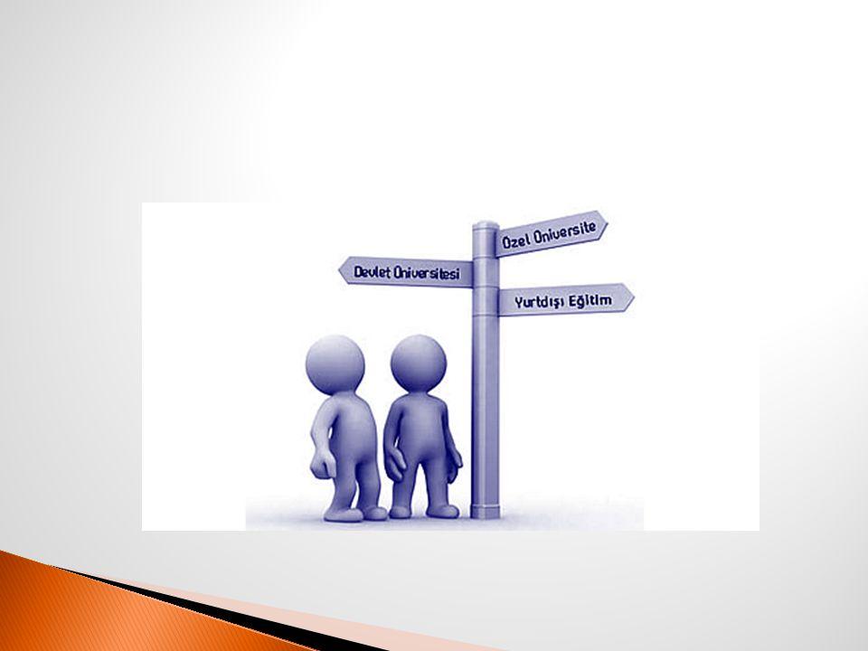  Ü niversitenin hedefleri,vizyonu  Eğitim programının özelliği  Akademik Kadro  Öğrenim ücretleri (BURSLAR, ÖDEME KOŞULLARI)  Kampüs ve Sosyal yaşam  Bölüm ve Programda okuyan öğrencilerin mezuniyet sonrası istihdam durumu