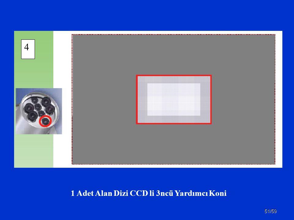 51/59 1 Adet Alan Dizi CCD li 3ncü Yardımcı Koni 4