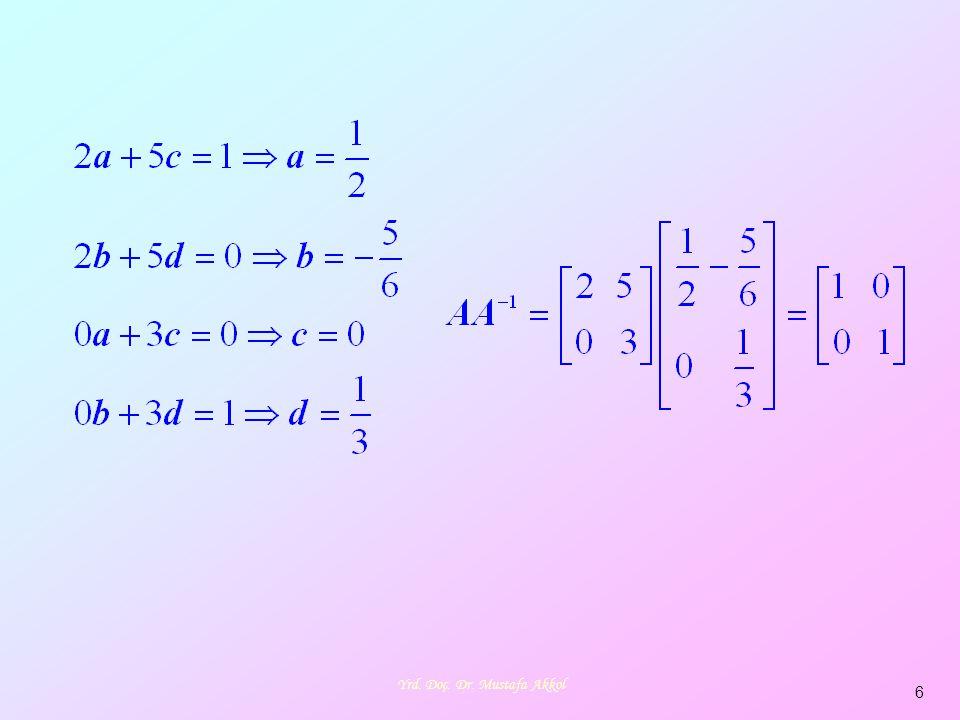 7 şeklinde n tane bilinmeyen ve m tane denklemden oluşan denklem sistemine doğrusal denklem sistemi demiştik.