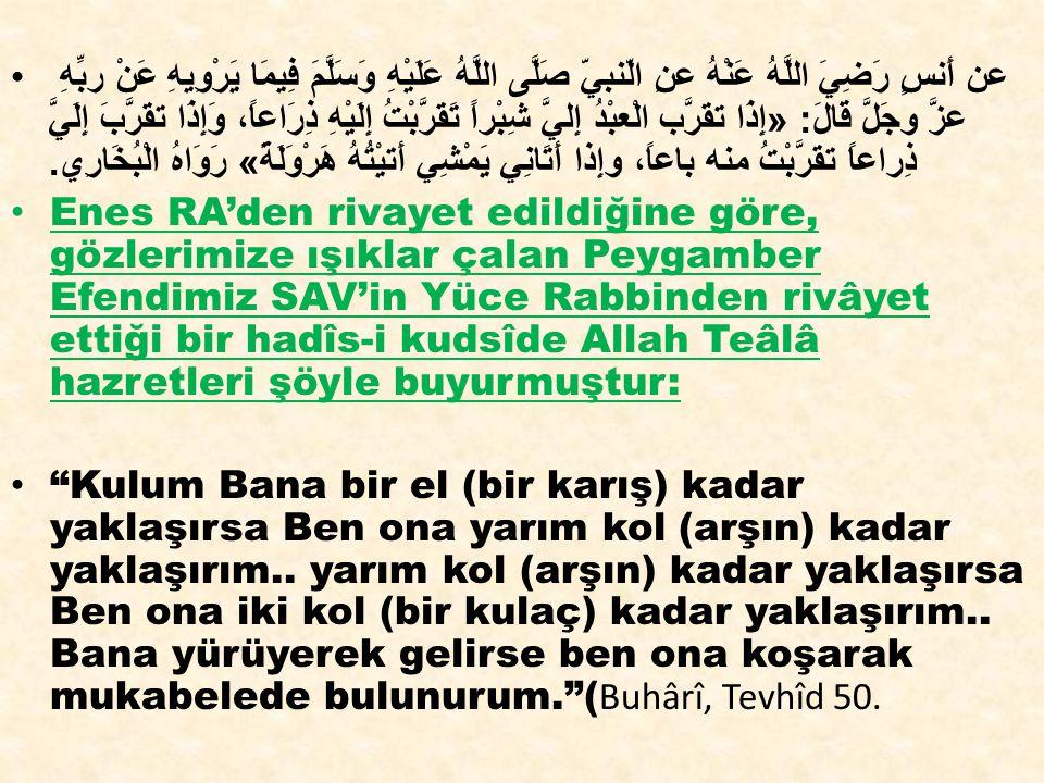 Hz Muhammed SAV Efendimiz şöyle buyuruyor: «Allah dünyayı sevdiğine de sevmediğine de verir.