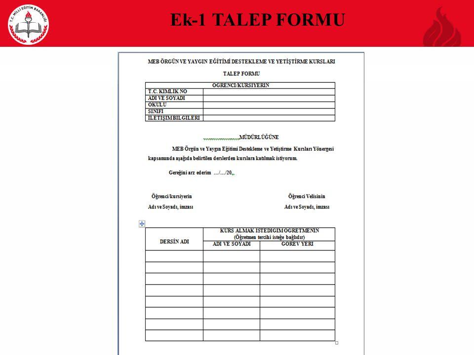 Ek-1 TALEP FORMU 13