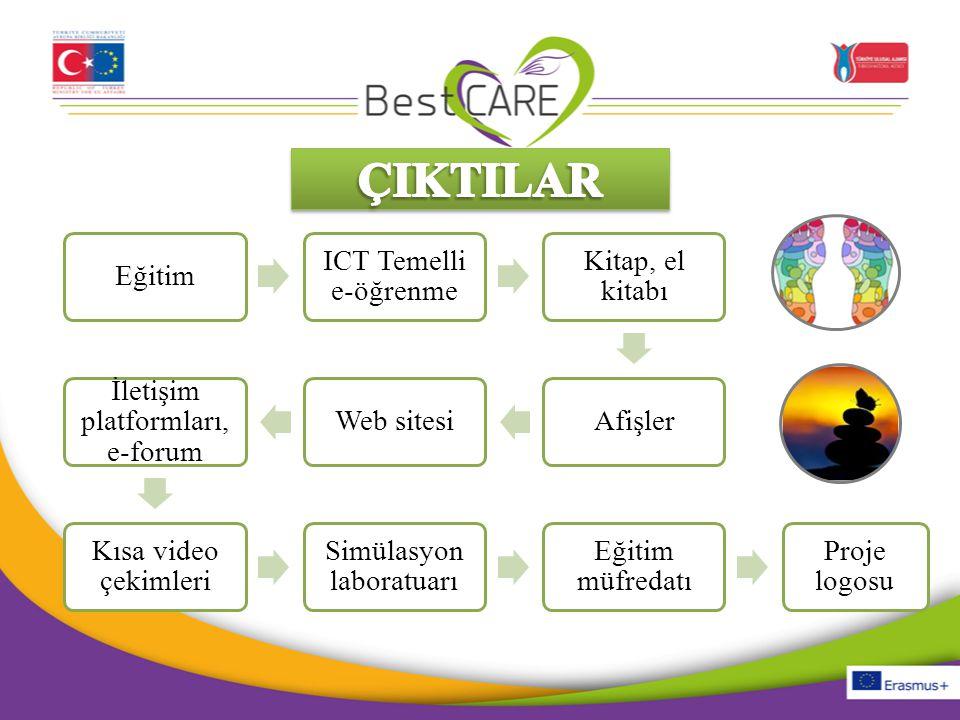 Eğitim ICT Temelli e-öğrenme Kitap, el kitabı AfişlerWeb sitesi İletişim platformları, e-forum Kısa video çekimleri Simülasyon laboratuarı Eğitim müfr