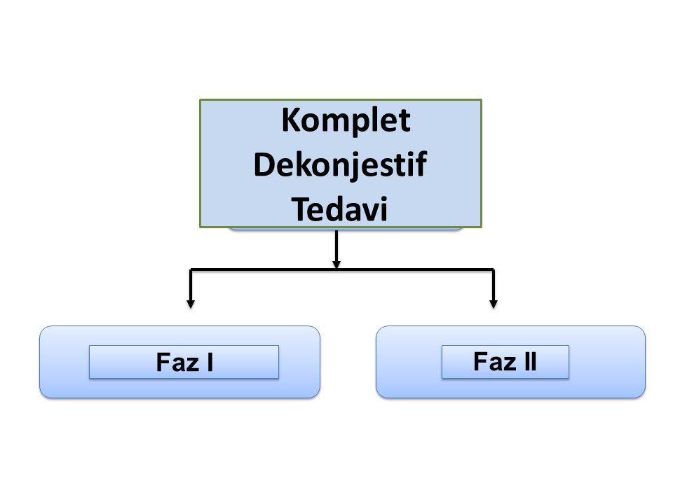 KDT Faz I Faz II Komplet Dekonjestif Tedavi