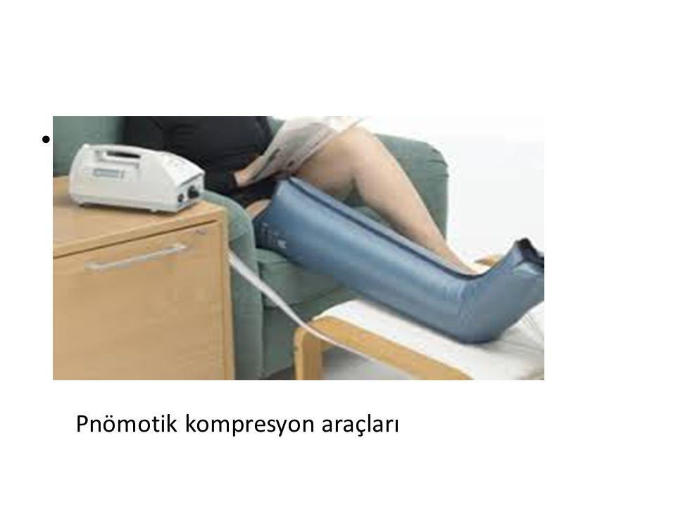 L Pnömotik kompresyon araçları