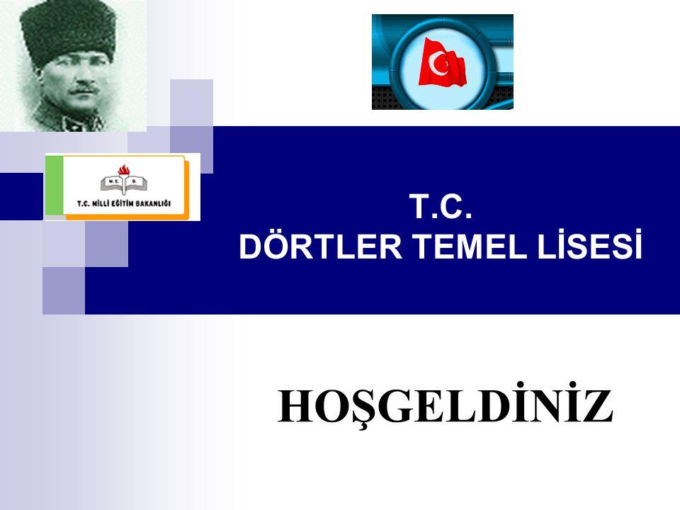 T.C. DÖRTLER TEMEL LİSESİ HOŞGELDİNİZ
