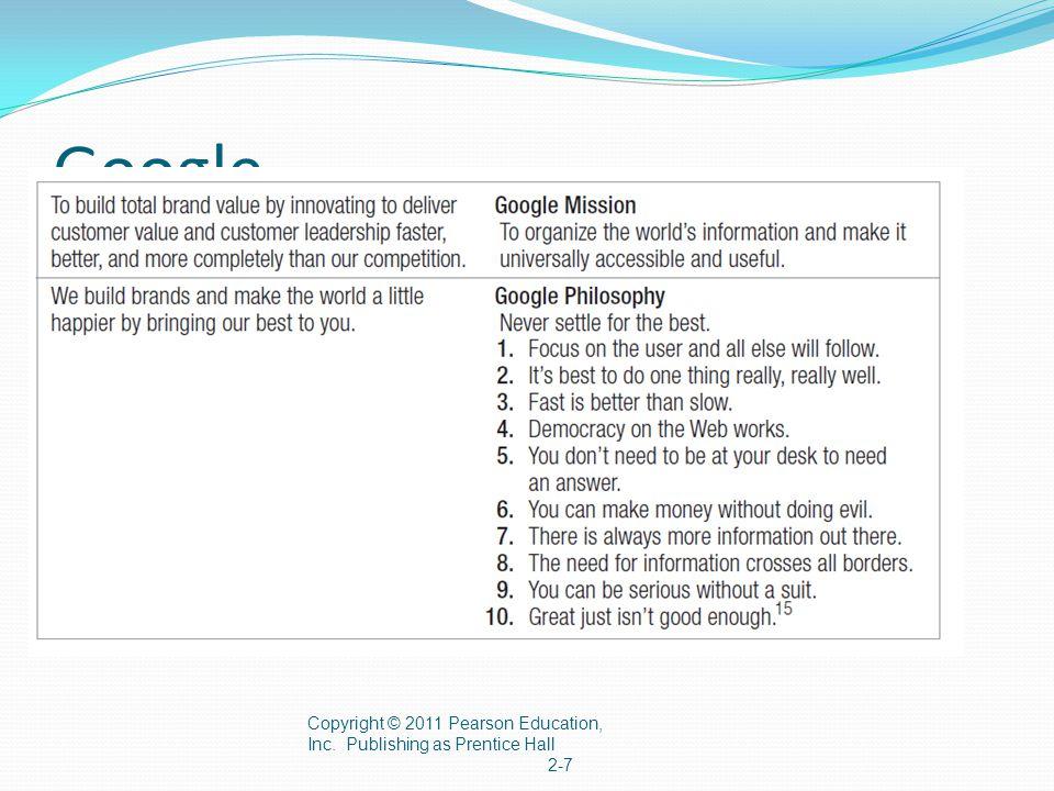 Target Markets, Positioning & Segmentation Copyright © 2011 Pearson Education, Inc.