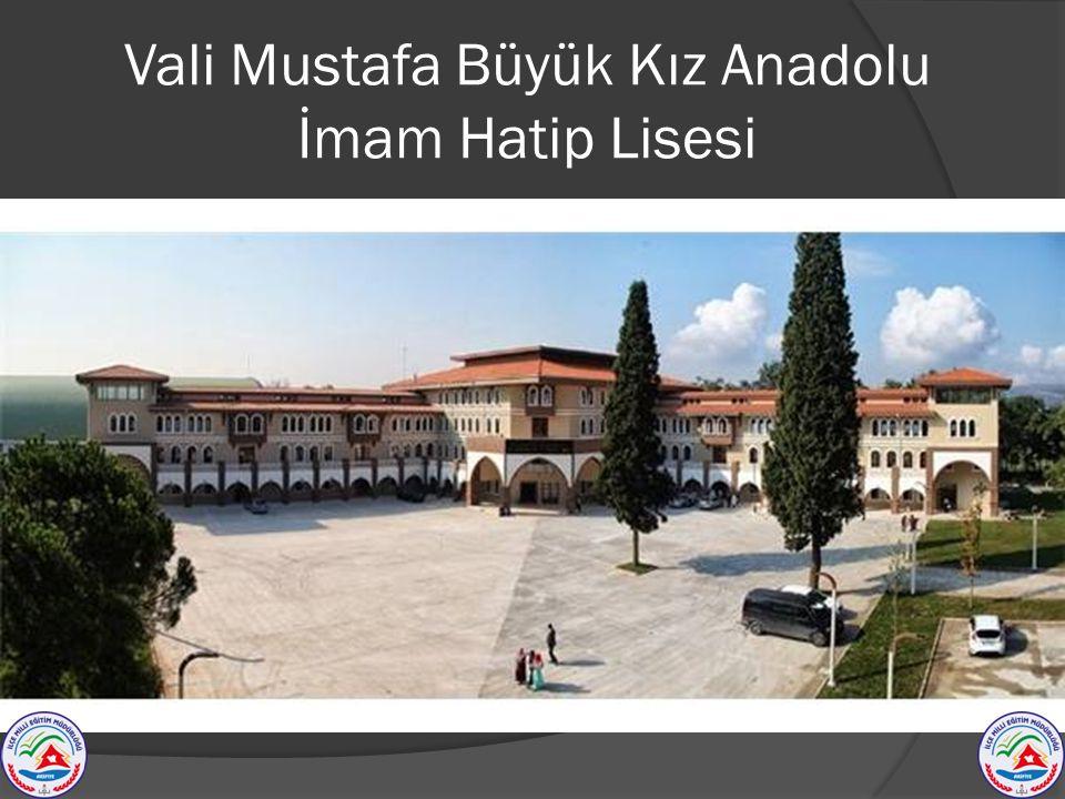 Vali Mustafa Büyük Kız Anadolu İmam Hatip Lisesi