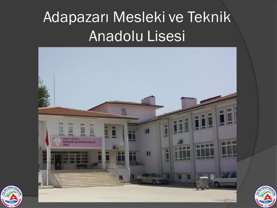 Adapazarı Mesleki ve Teknik Anadolu Lisesi