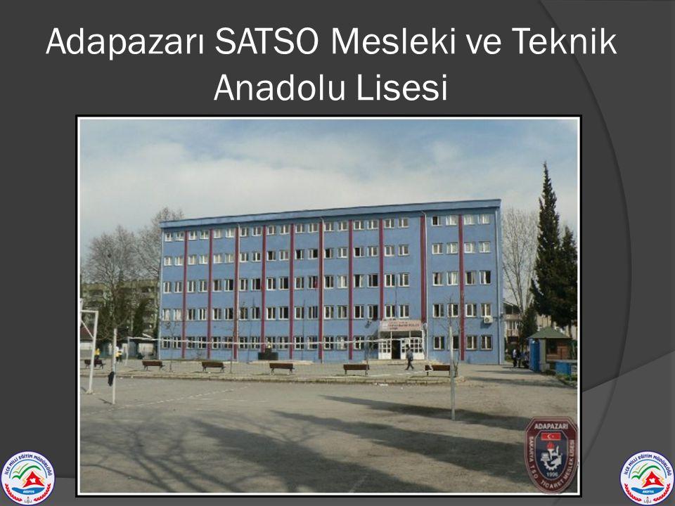 Adapazarı SATSO Mesleki ve Teknik Anadolu Lisesi