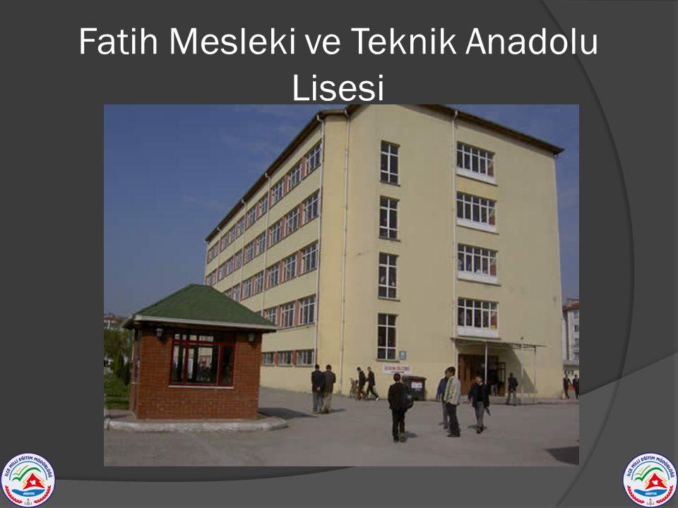 Fatih Mesleki ve Teknik Anadolu Lisesi