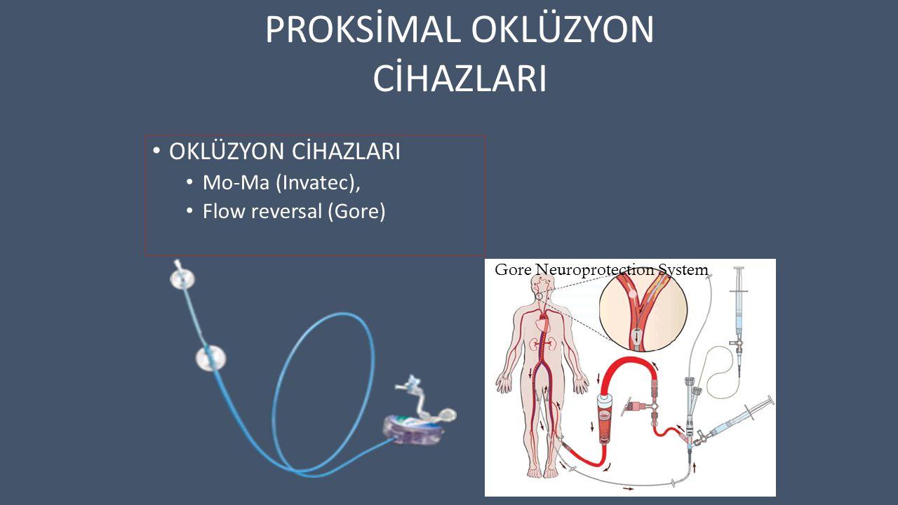 Gore Neuroprotection System OKLÜZYON CİHAZLARI Mo-Ma (Invatec), Flow reversal (Gore) PROKSİMAL OKLÜZYON CİHAZLARI