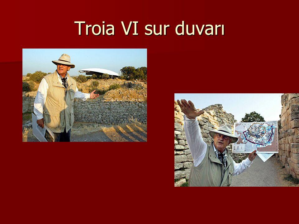 Troia VI sur duvarı