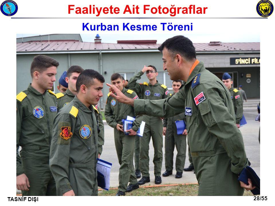 28/55 TASNİF DIŞI Faaliyete Ait Fotoğraflar I Kurban Kesme Töreni