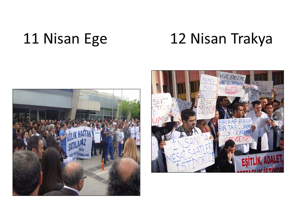 11 Nisan Ege 12 Nisan Trakya