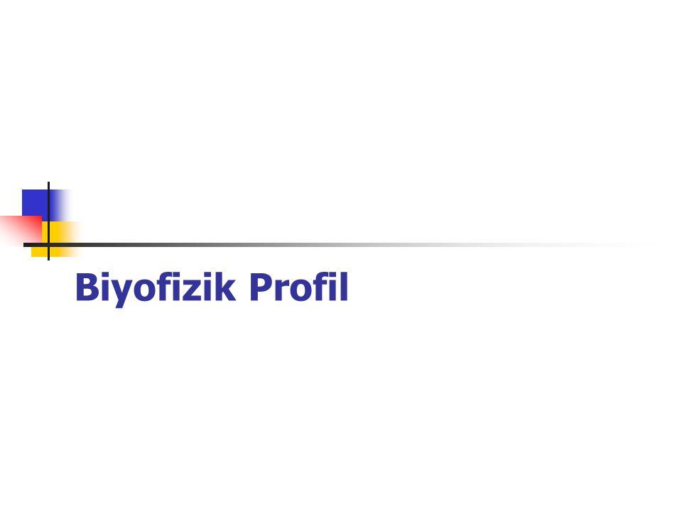 Biyofizik Profil