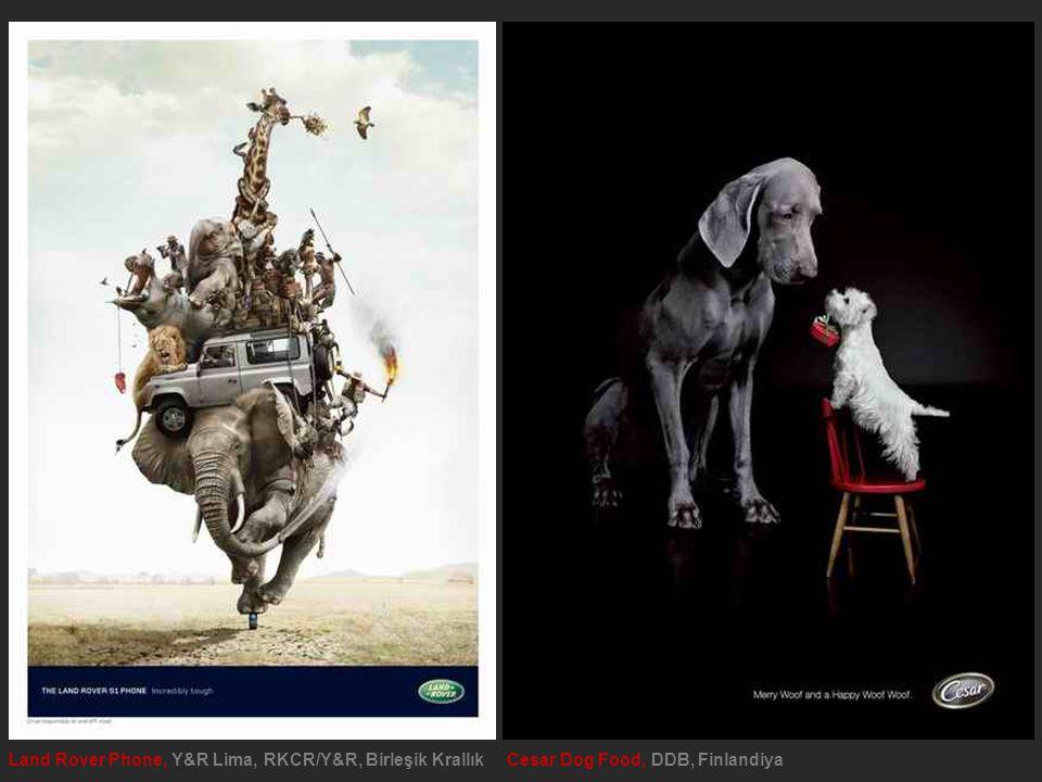 Land Rover Phone, Y&R Lima, RKCR/Y&R, Birleşik Krallık Cesar Dog Food, DDB, Finlandiya
