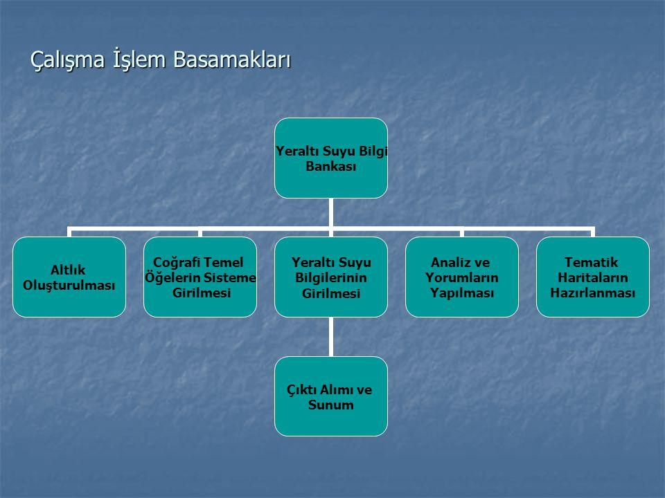 Adana İli ve yakın çevresinin sayısallaştırılmış eş yükseklik haritası