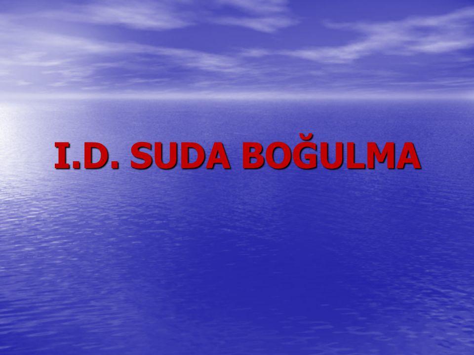 I.D. SUDA BOĞULMA