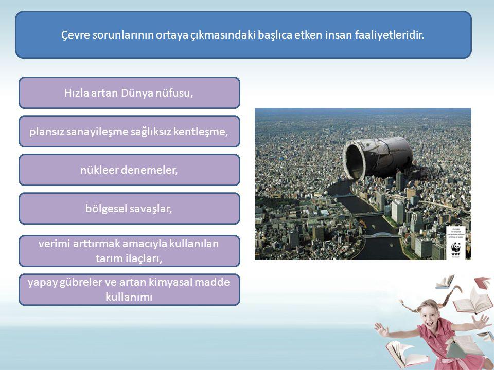 çevre kirliliğine neden olarak çevresel sorunların ortaya çıkmasına sebep olmuştur.