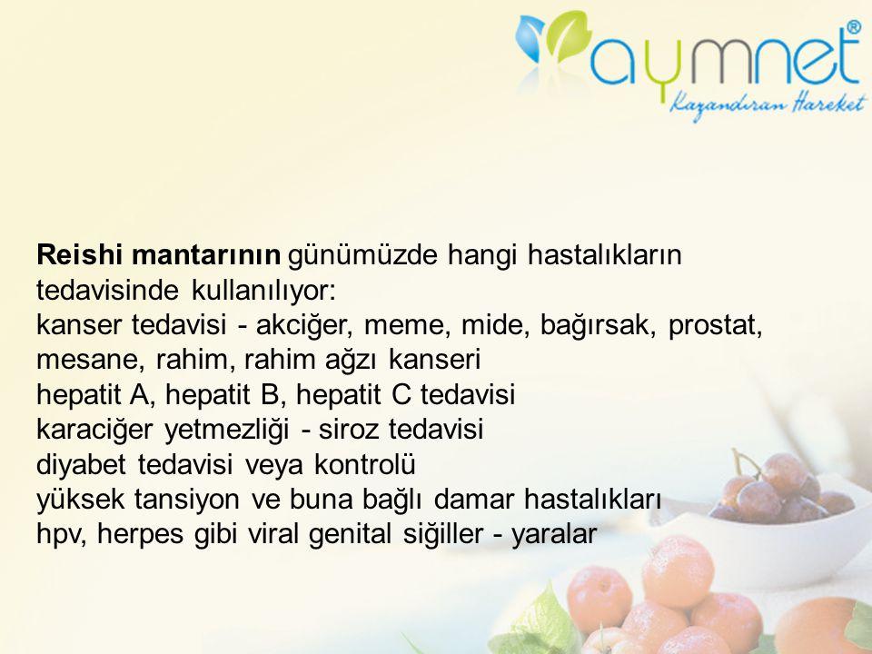 Reishi mantarının günümüzde hangi hastalıkların tedavisinde kullanılıyor: kanser tedavisi - akciğer, meme, mide, bağırsak, prostat, mesane, rahim, rah