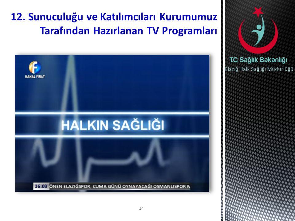 49 Elazığ Halk Sağlığı Müdürlüğü