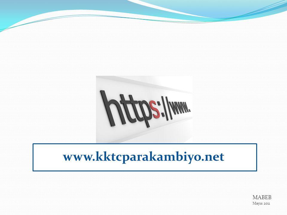 www.kktcparakambiyo.net MABEB Mayıs 2011