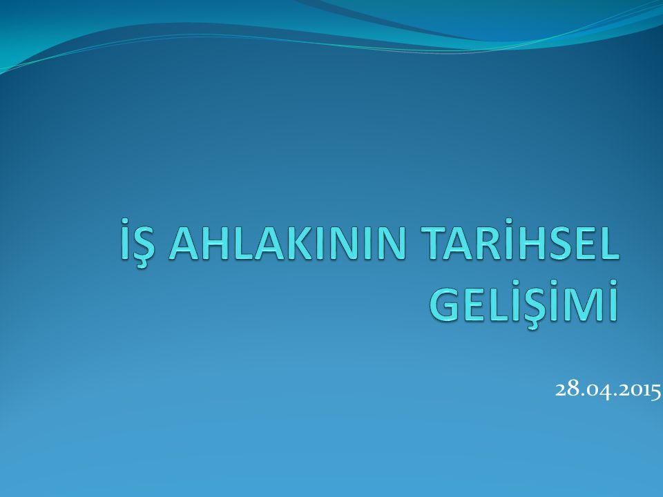 1950'li yıllardan sonra Türk toplumunda sosyal iliksilerde ciddî etik sorunlar yaşanmıştır.