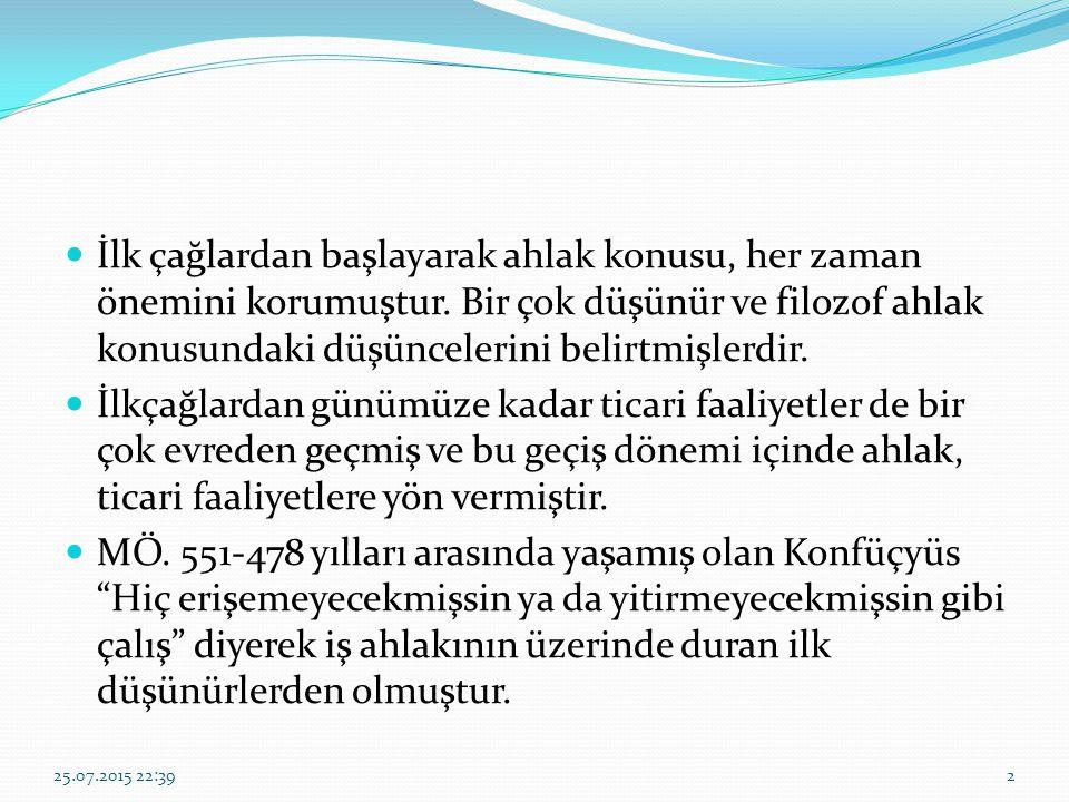 AHİLİK TEŞKİLATI Terim anlamında Ahilik, XIII.