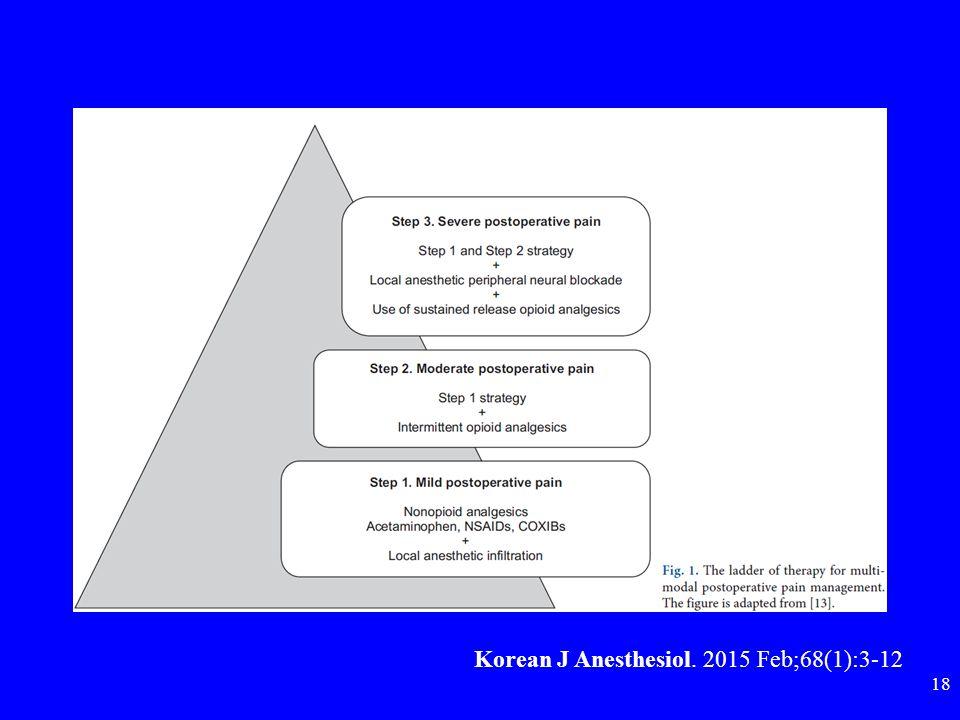 Korean J Anesthesiol. 2015 Feb;68(1):3-12 18