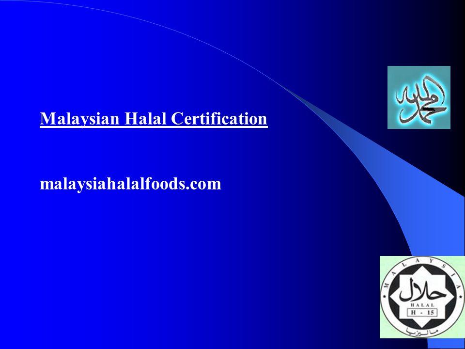 Malaysian Halal Certification malaysiahalalfoods.com