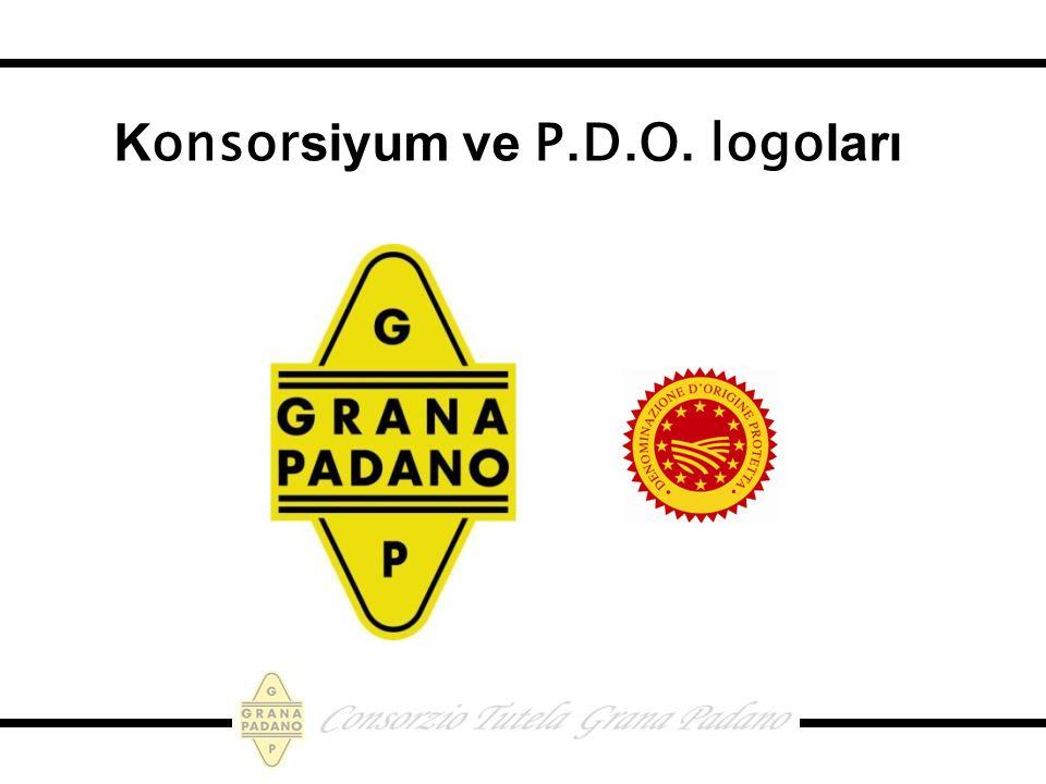 K onsor siyum ve P.D.O. logo ları