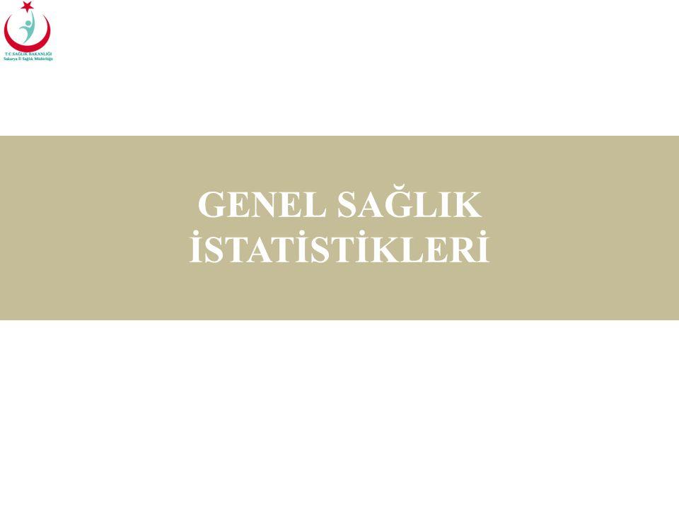 GENEL SAĞLIK İSTATİSTİKLERİ