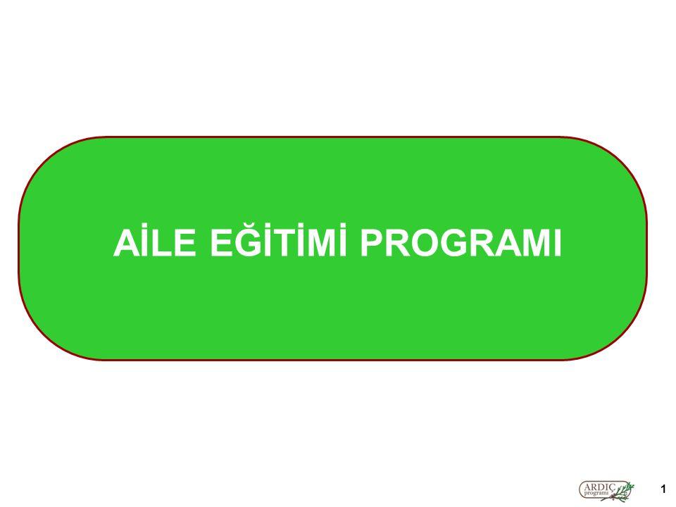 AİLE EĞİTİMİ PROGRAMI 1
