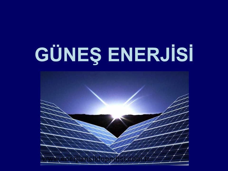 Güneş Enerjisi Nedir Güneş enerjisi ya da Güneş erkesi, Güneş ışığından enerji elde edilmesine dayalı bir teknolojidir.