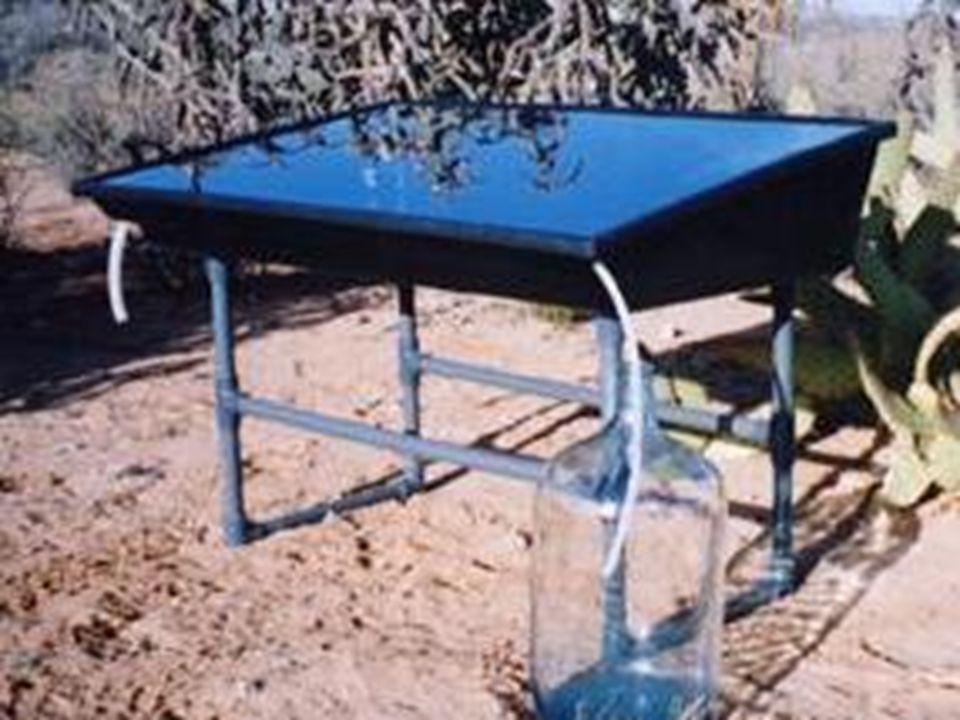 Güneş Ocakları Çanak şeklinde ya da kutu şeklinde, içi yansıtıcı maddelerle kaplanmış güneş ocaklarında odakta ısı toplanarak yemek pişirmede kullanılır.