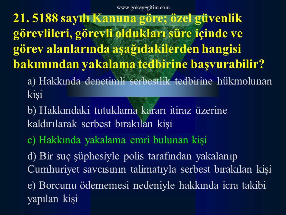 www.gokayegitim.com 21.