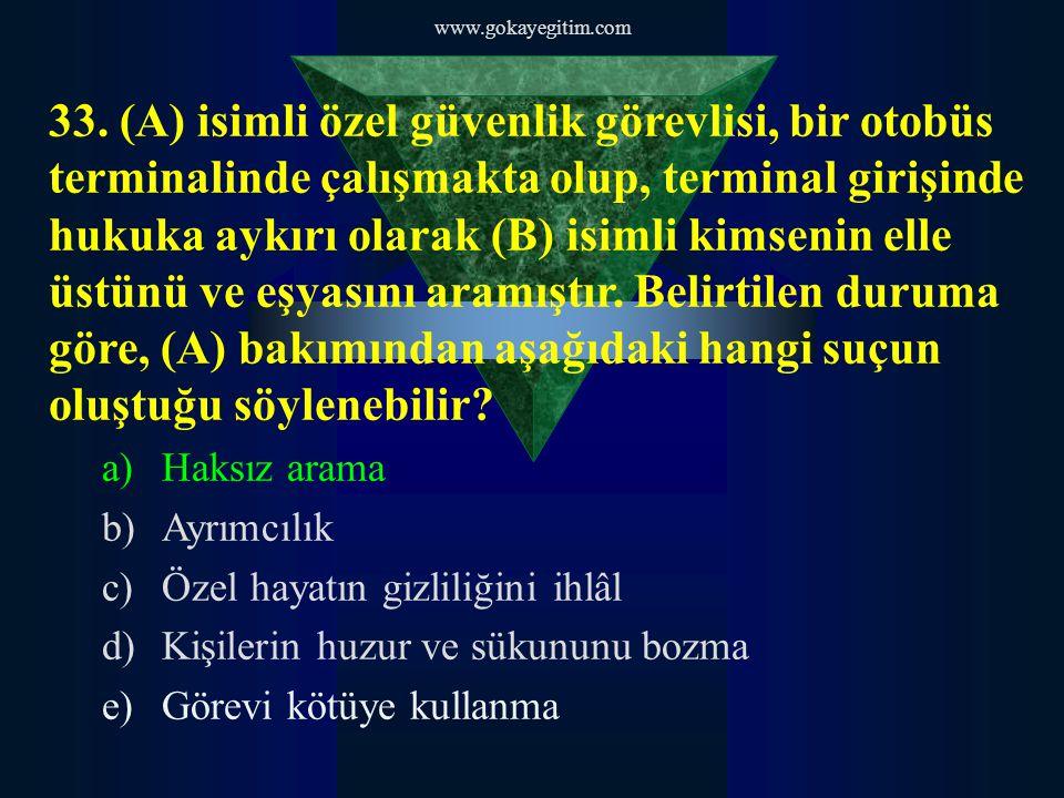 www.gokayegitim.com 33.